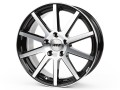 AEZ Straight Black Polished Wheel