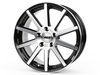 AEZ Straight Black Polished Wheel