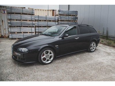 Alfa Romeo 156 Matrix Side Skirt Extensions