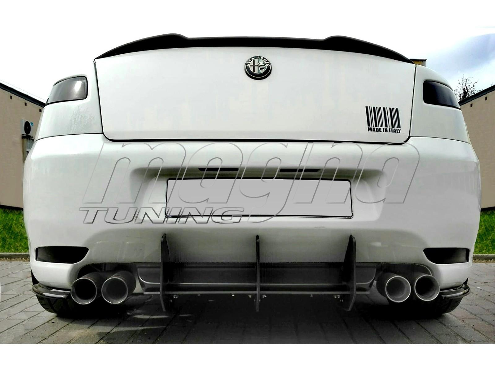Alfa Romeo GT Racer Rear Bumper Extension
