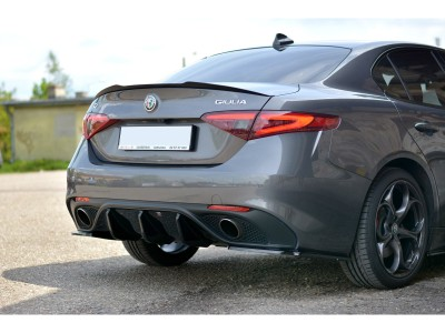 Alfa Romeo Giulia MX Rear Wing Extension