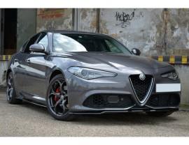 Alfa Romeo Giulia Veloce MX Front Bumper Extension