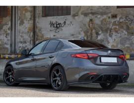 Alfa Romeo Giulia Veloce MX Rear Bumper Extension