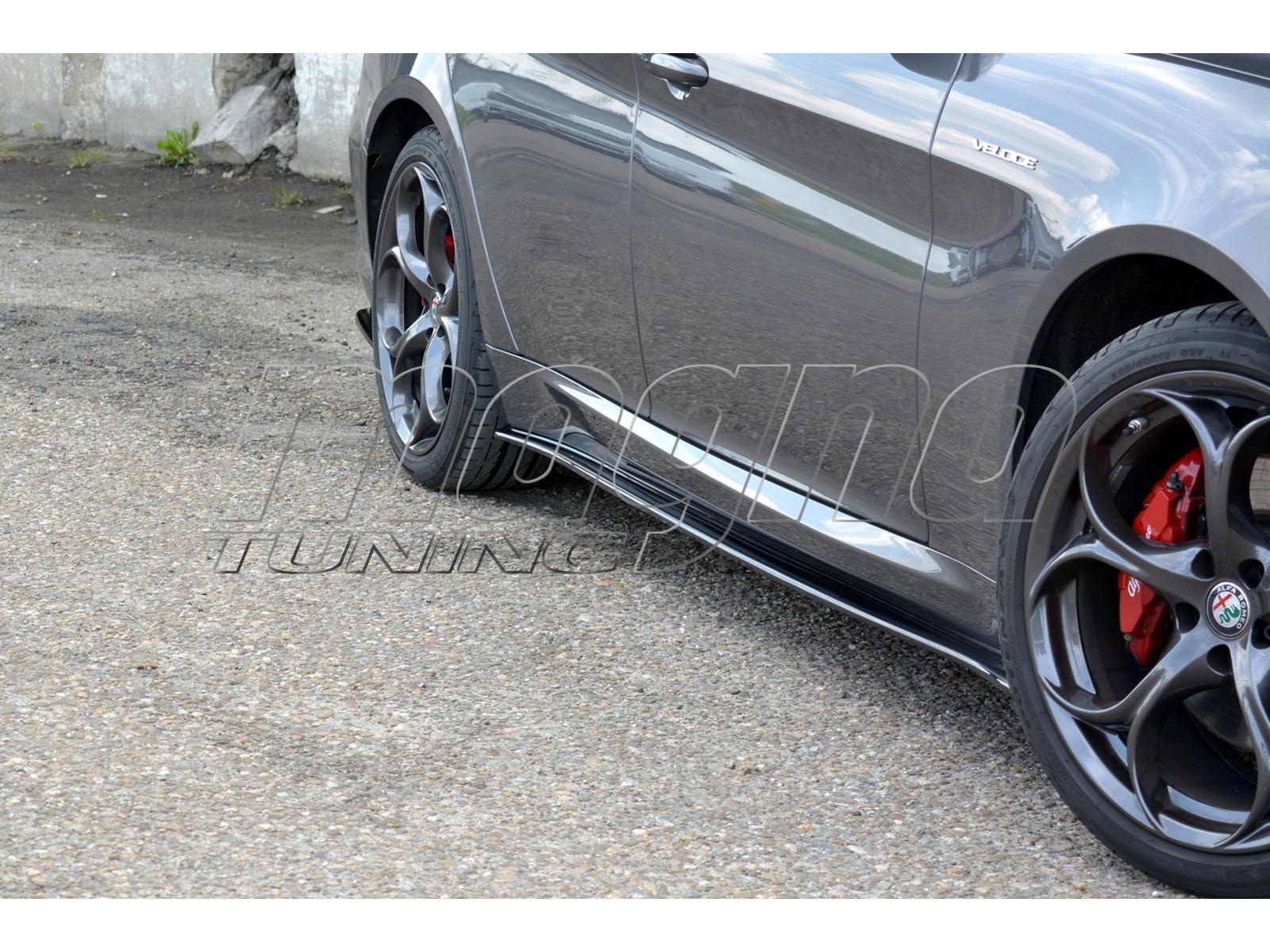 Alfa Romeo Giulia Veloce MX Side Skirt Extensions
