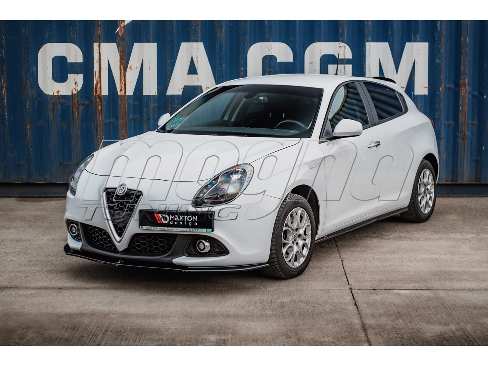 Alfa Romeo Giulietta Matrix Body Kit