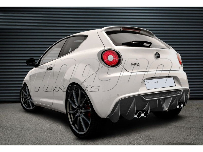 alfa romeo mito mx rear bumper extension. Black Bedroom Furniture Sets. Home Design Ideas
