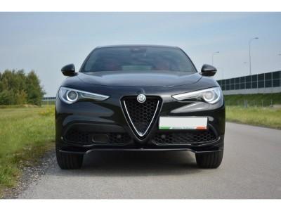 Alfa Romeo Stelvio MX Front Bumper Extension