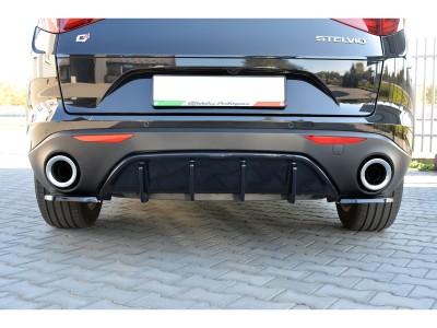 Alfa Romeo Stelvio MX Rear Bumper Extensions