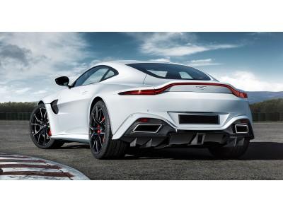Aston Martin Vantage MK2 Stenos Carbon Fiber Rear Bumper Extensions