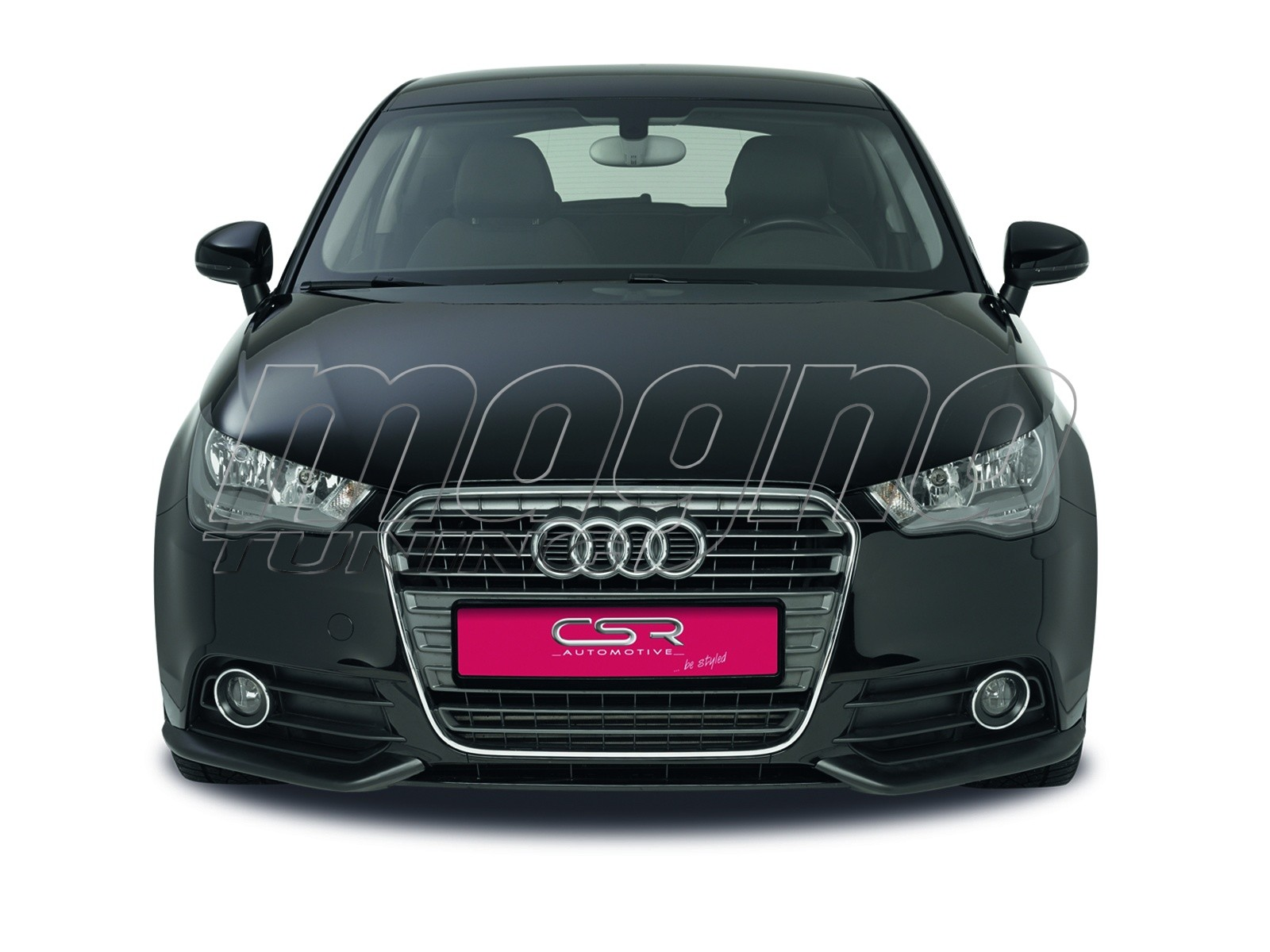 audi a1 8x cx front bumper extensions. Black Bedroom Furniture Sets. Home Design Ideas