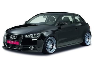 Audi A1 8X CX Front Bumper Extensions