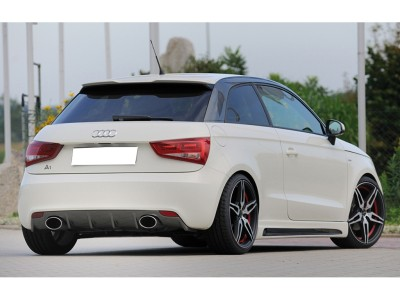 Audi A1 8X Razor Rear Bumper Extension