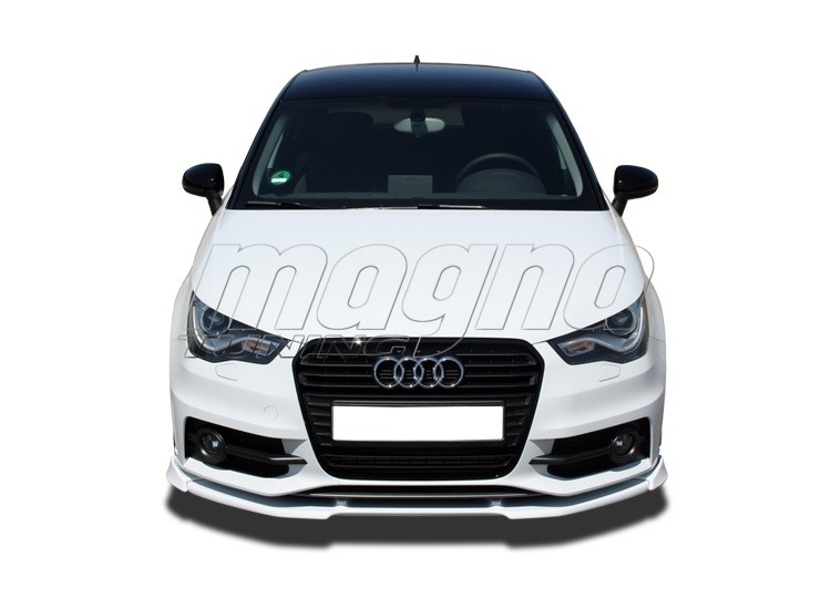audi a1 8x s line verus x front bumper extension. Black Bedroom Furniture Sets. Home Design Ideas