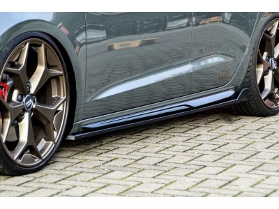 Audi A1 GB Intenso Side Skirt Extensions
