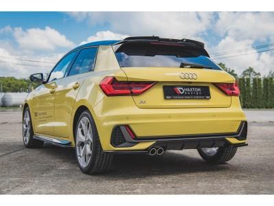 Audi A1 GB MX Rear Bumper Extensions