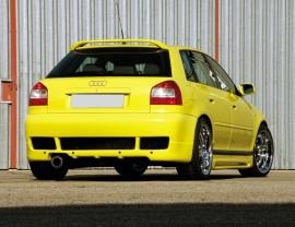 Audi A3 8L Rial Rear Bumper Extension