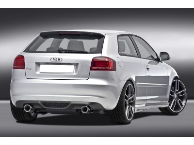 Audi A3 8P C2 Rear Bumper Extension