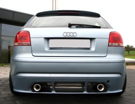 Audi A3 8P Enos Rear Bumper Extension