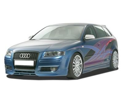 Audi A3 8P Facelift GT-Line Front Bumper Extension