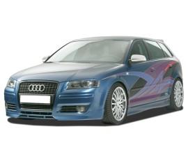 Audi A3 8P Facelift GT5 Front Bumper Extension