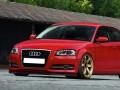 Audi A3 8P Facelift Intenso Front Bumper Extension
