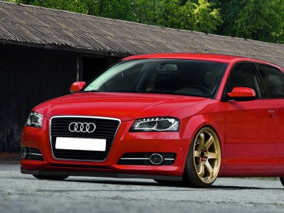 Audi A3 8P Facelift Intenso2 Front Bumper Extension