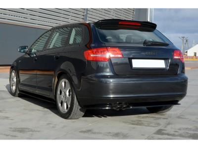 Audi A3 8P Facelift Matrix Heckansatz