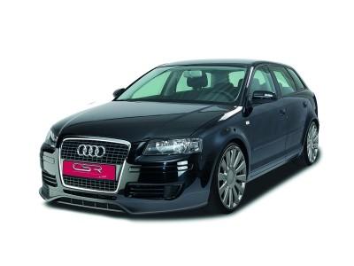 Audi A3 8P Facelift NewLine Front Bumper Extension
