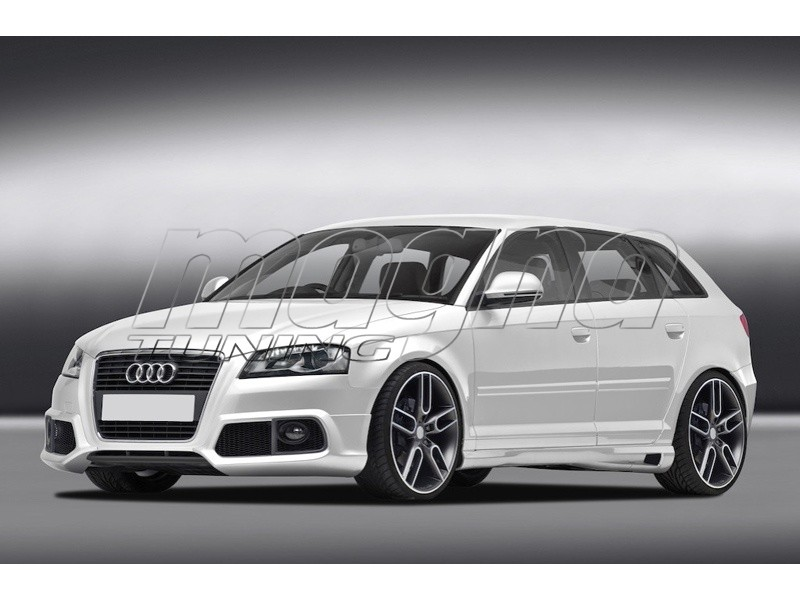 Car Body Kits >> Audi A3 8P Facelift Sportback Body Kit C2