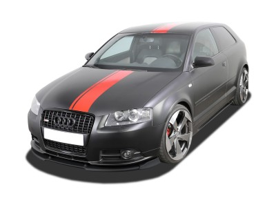 Audi A3 8P Facelift V2 Front Bumper Extension