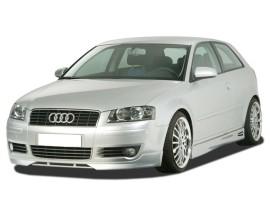 Audi A3 8P GT5 Front Bumper Extension