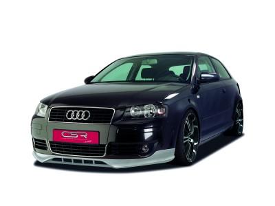Audi A3 8P NewLine Front Bumper Extension