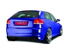 Audi A3 8P NewLine Rear Bumper Extension