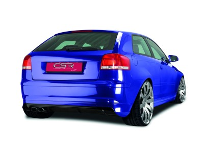 Audi A3 8P NewLine Rear Bumper Extension