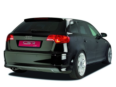 Audi A3 8P O2-Line Rear Bumper Extension