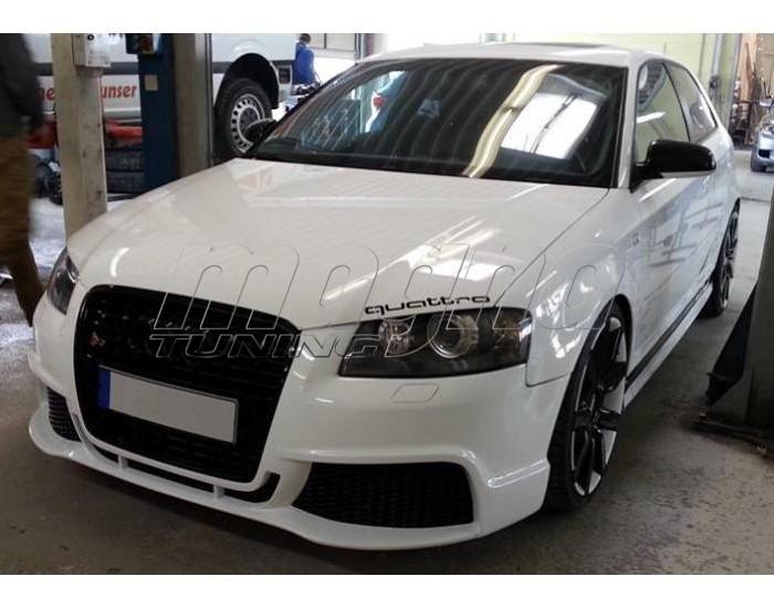 Audi A3 8p R Look Front Bumper