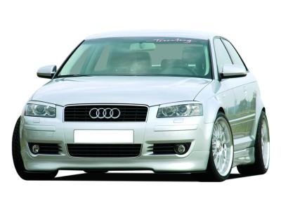 Audi A3 8P RX Front Bumper Extension