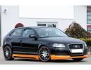 Audi A3 8P Recto Front Bumper Extension