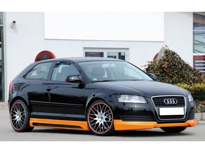 Audi A3 8P Recto Front Bumper Extension