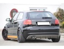 Audi A3 8P Recto Rear Bumper Extension