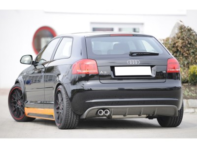 Audi A3 8P Recto Rear Bumper Extension