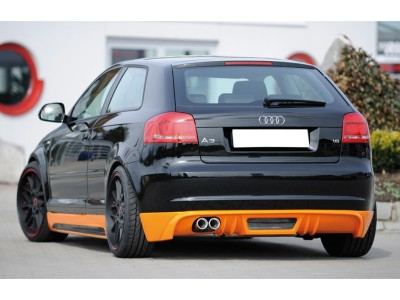 Audi A3 8P Recto2 Rear Bumper Extension
