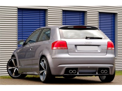 Audi A3 8P Rio Rear Bumper Extension