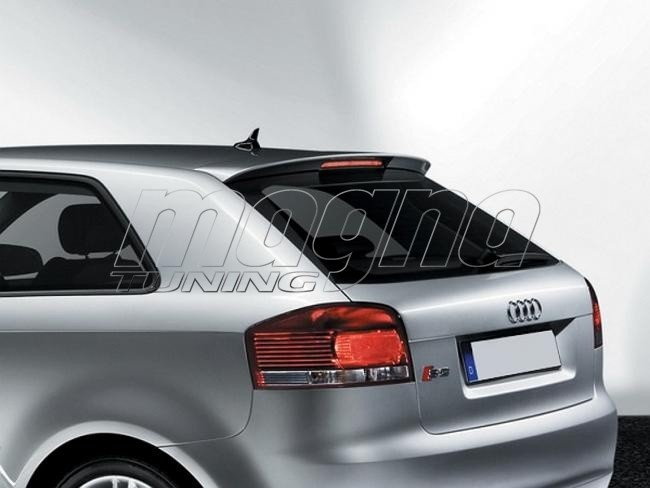 audi a3 8p s3 look rear wing. Black Bedroom Furniture Sets. Home Design Ideas