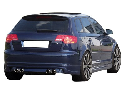 Audi A3 8P SF Rear Bumper Extension
