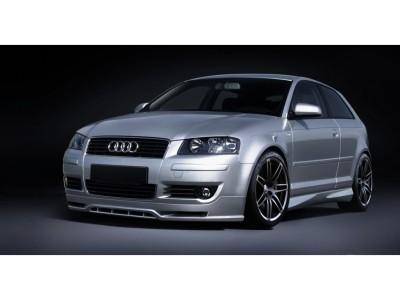 Audi A3 8P SX Front Bumper Extension