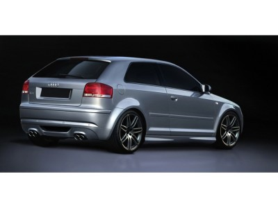 Audi A3 8P SX Rear Bumper Extension