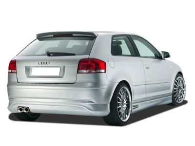 Audi A3 8P Singleframe Rear Bumper Extension