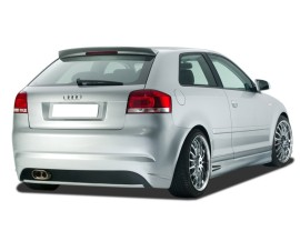 Audi A3 8P Singleframe Rear Bumper
