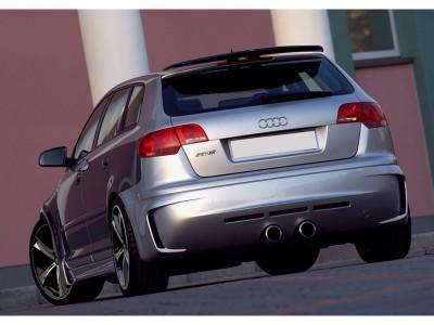 Audi A3 8P Sportback Extensie Bara Spate R2